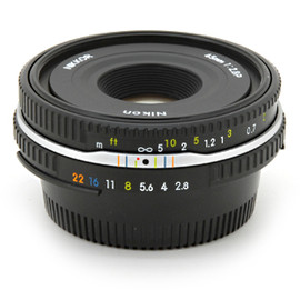 Nikon - Ai Nikkor 45mm F2.8P Black