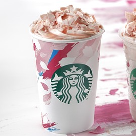 Starbucks - Sakura Blossom & Strawberry Latte