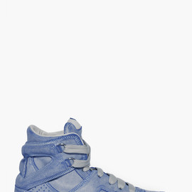 MAISON MARTIN MARGIELA 22 - Distressed Blue SNEAKERS