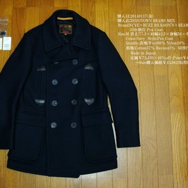 SCYE×BUZZ RICKSON'S×BEAMS - 35th別注 Pea Coat