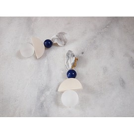 st,cat - Ancient Marble Earrings