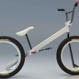 Nikolay Boltachev design - Hubless BMX Concept Bike