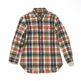 COMME des GARCONS HOMME PLUS - Eighth Sleeve Checkered Pattern Shirt