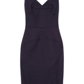 Roland Mouret - Lush stretch-cotton dress