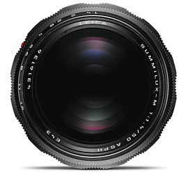 Leica - SUMMILUX-M 50mm f1.4 black chrome finish