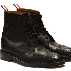 Thom Browne - Long Wing Brogue Boot
