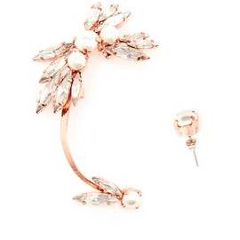 RYAN STORER - Rose Gold and Pearl Ear Cuff