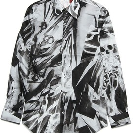Paul Smith - SCISSORS LONG POINT SHIRTS