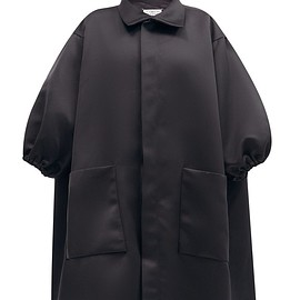 Maison Margiela - Puff-sleeved satin coat