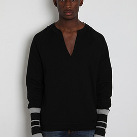 Alexander McQueen - LOOP NECK SWEATSHIRT