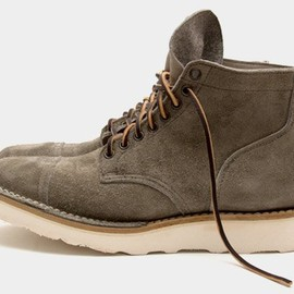 VIBERG - Suede Service Boots