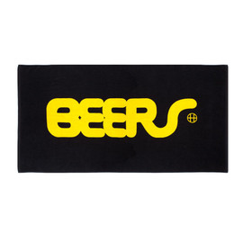 HUF - BEERS BEACH TOWEL (Black)