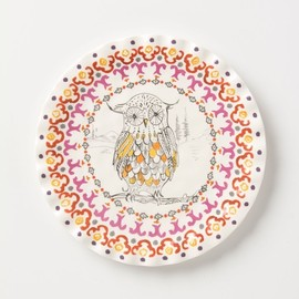 Anthropologie - Forest Fable Dessert Plate