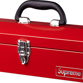 Supreme - fallwinter'14 Supreme Metal Toolbox