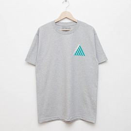 cup and cone - 6th Anniversary Tee - Grey