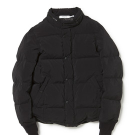 nonnative - LABOURER DOWN JACKET PIN TWILL