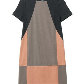 MARC BY MARC JACOBS - CAROLINE COLORBLOCK JERSEY DRESS