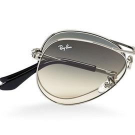 Ray-Ban - Folding Aviator Sunglasses