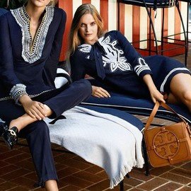 Tory Burch - The Tunic: the epitome of bohemian glamour | Tory Burch Resort 2014
