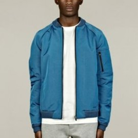 NS - Men's Over-Dyed Run Bomber Jacket