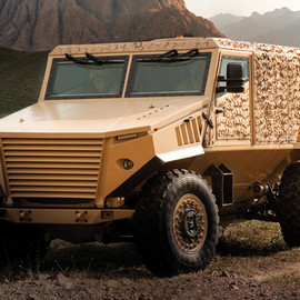 Ocelot Mine Resistant Tactical Vehicle - GENERAL DYNAMICS   Ocelot Mine Resistant Tactical Vehicle - Designed by McLaren