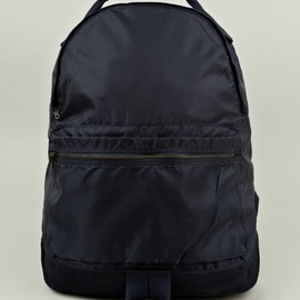 A.P.C. - Men's Navy Blue Nylon Backpack