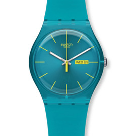 Swatch - new gent turquoise rebel