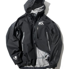 BACK CHANNEL x LEADERBIKES - NYLON3LAYER MOUNTAIN PARKA