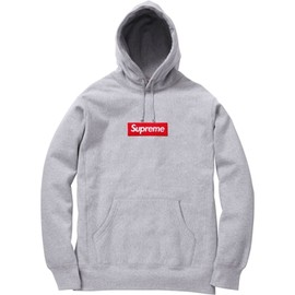 Box Logo Pull Over Hoody