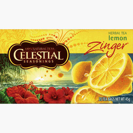 CELESTIAL - Natural Herb Tea - Lemon Zinger (20/pkg)