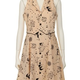 G.V.G.V. - TATOO PRINT DRESS