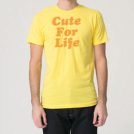Chris D'Ella - The CUTE FOR LIFE Tee (Yellow/Orange)