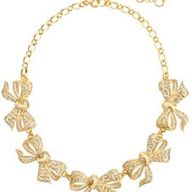 J.CREW - Bow Collar Necklace
