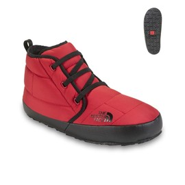 THE NORTH FACE - NSE TRACTION CHUKKA - Molten Red/Black