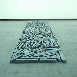 Richard Long - Stone-River Installation