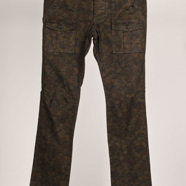 WINGS + HORNS - Overdyed Camouflage Bush Pant