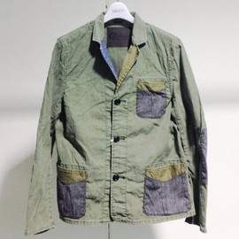 Nigel Cabourn - recycled jacket