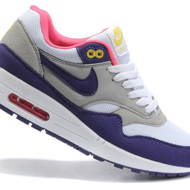 Nike - Nike Air Max 87 Womens Shoes Cheap Blue Gray White
