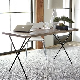 west elm - Metal Truss Work Table