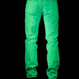 Naked & Famous - Glow In The Dark Raw Denim Jeans