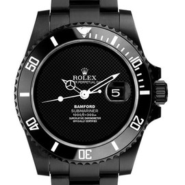ROLEX - black/watch
