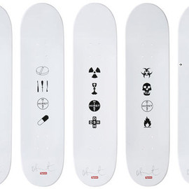 Damien Hirst - Skateboards for Supreme