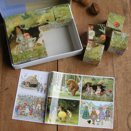 The world of Elsa Beskow - Elsa Beskow cube puzzle