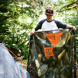 Poler, Girl Skateboards - One Man Tent - Green Camo