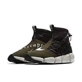 NIKE - Air Footscape Mid Utility - Cargo Khaki/Summit White?