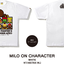 A BATHING APE - MILO ON CHARACTER
