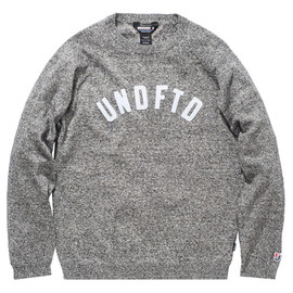 UNDEFEATED - UNDEFEATED UNDFTD FELT SWEATER