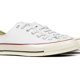 Converse - First String 1970s Chuck Taylor Ox White/Red/Black