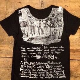 SEDITIONARIES(a store robot) - OLIVER TWIST Tee bk