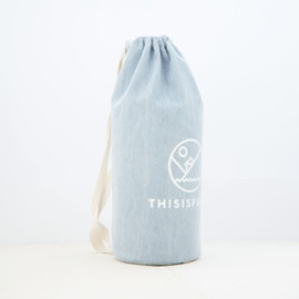 Thisispaper - Cylinder Denim Bag